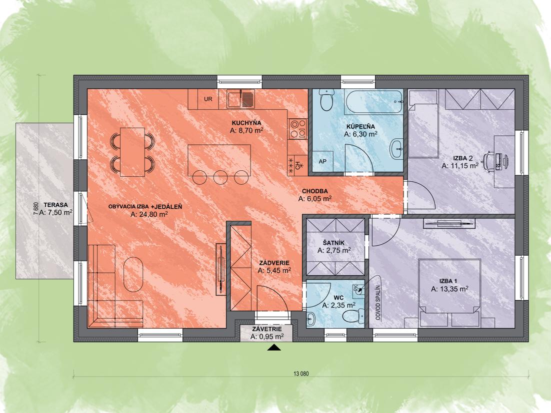 Selena Design Podorys Final - LEA 3 | Familyhouse