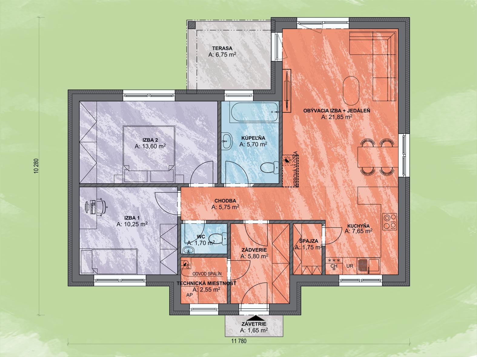 Enos Design Podorys - LEA 6 | Familyhouse