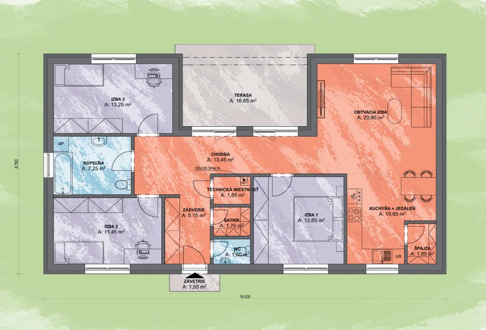 Emma Design Podorys - LUNA 9 | Familyhouse