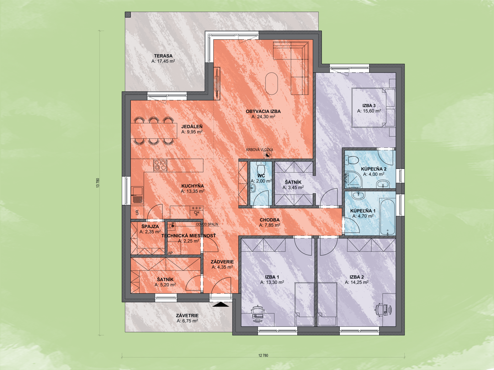 Zeus Design Podorys - LADY 4 | Familyhouse